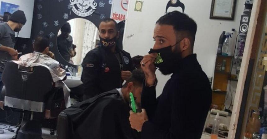 Yabancı uyruklulara maske cezası