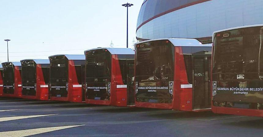 Büyükşehir'in yeni otobüsleri geldi