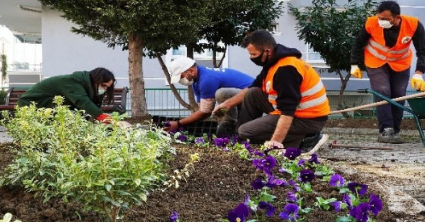 Atakum'a beş yeni park