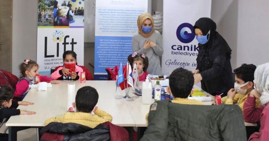 Canik'te çocuklara ruhsal destek