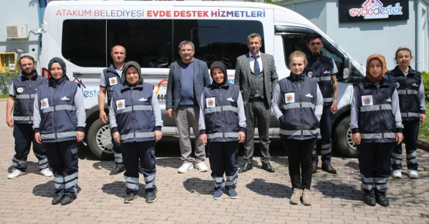 Atakum'da evde destek dönemi
