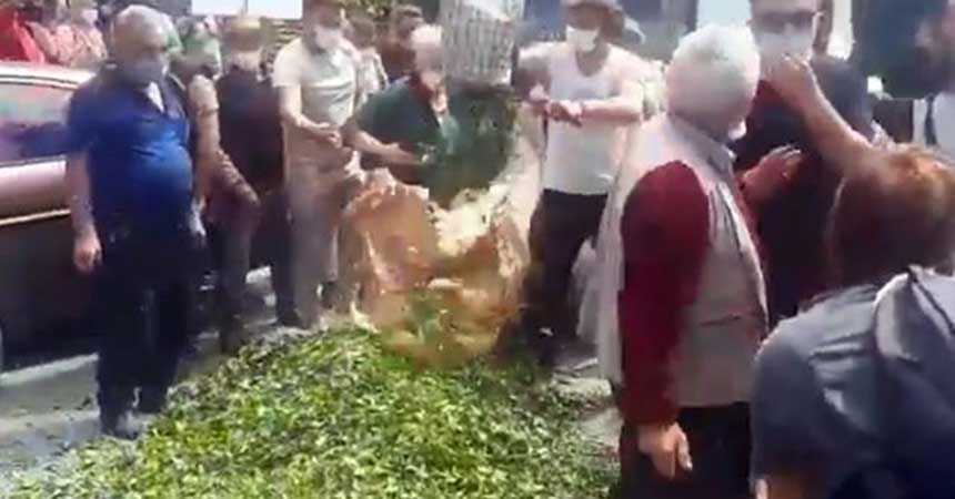 Erdoğan'ın memleketinde üreticiler isyanda