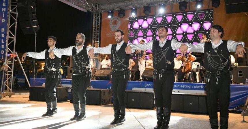 Atakum'da sahil konseri