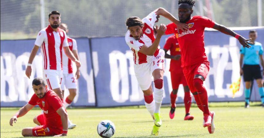 Kayseri'yi hazırlık maçında Yasin'le yendi