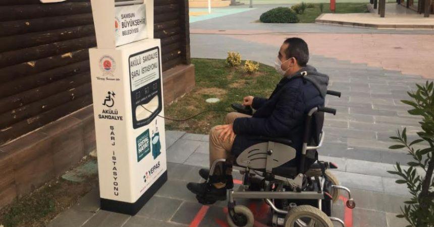 Engelliler için ücretsiz şarj