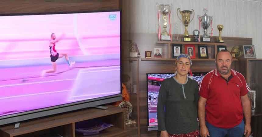 Necati Er'in ailesi oğullarını heyecanla izledi