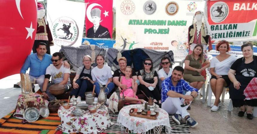 Balkan Türkleri Derneği'nden kültür şöleni