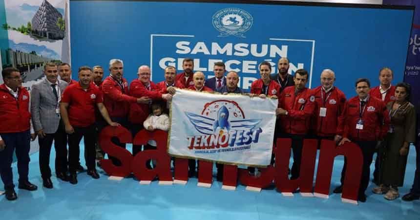 Samsun Üniversitesi'ne TEKNOFEST'te ödül yağdı