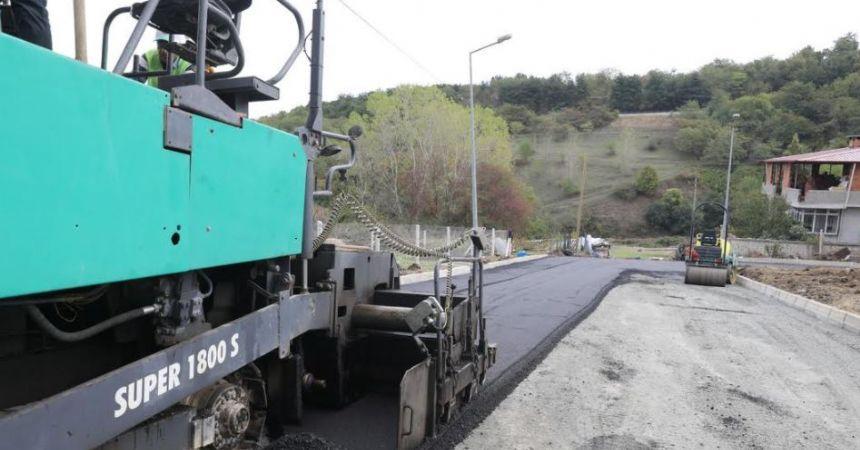17 Bin ton sıcak asfalt