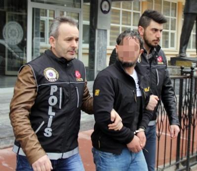 Samsun'da sentetik tutuklama