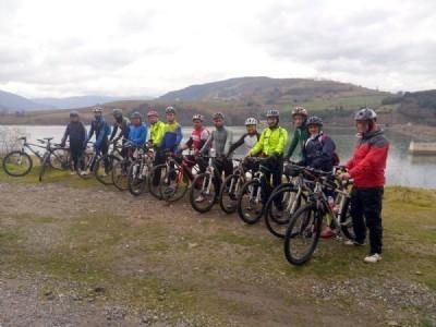 Kız Kayası'na bisiklet turu
