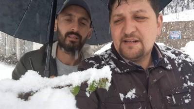 Fındık üreticilerinden 'Mart karı klibi'