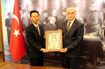Çin Büyükelçisi Samsun'da
