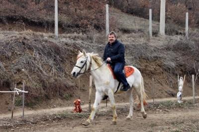 Tosya'da atlı spor derneği kuruldu