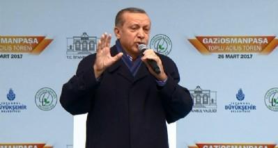 Cumhurbaşkanı Erdoğan'dan sert sözler: Faşistsiniz, faşist