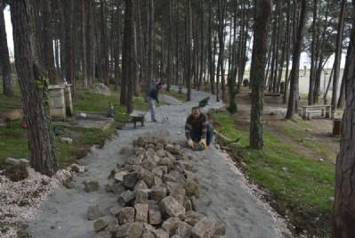 Çamlık Mesire Alanı yenileniyor