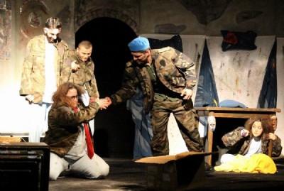 OMÜ Tiyatro Festivali başladı