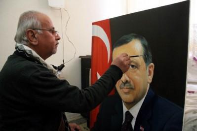 Saddam'ın ressamı, Türk ünlüleri çiziyor