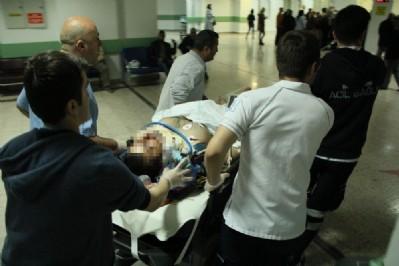 Çatıdan düşen işçi ağır yaralandı