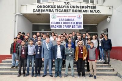OMÜ'de hacker kamp