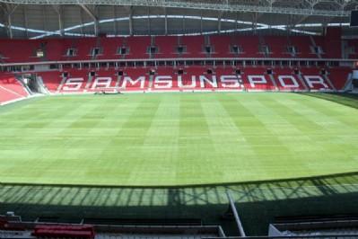 Samsunspor Stadı, 15 gün sonra hazır olacak!