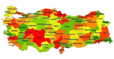 İşte Türkiye'nin aile haritası