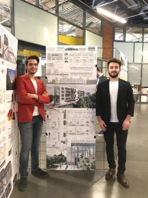 OMÜ Mimarlık Madrid'de yarışacak