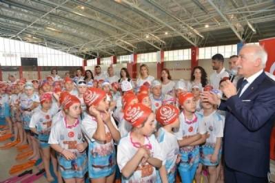 Samsun'un yüzmede hedefi 16 bin öğrenci