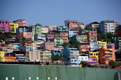 Samsun olimpiyat renklerine boyanıyor