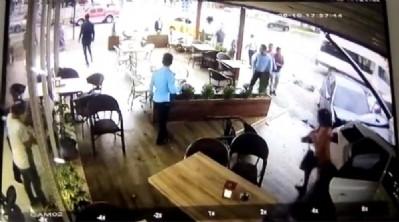 İranlı hırsızlar pastaneye girdi!