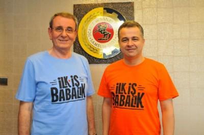 """Murzioğlu'ndan """"İlk İş Babalık"""" desteği"""