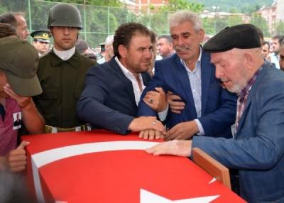 Ordu, şehidini gözyaşlarıyla uğurladı