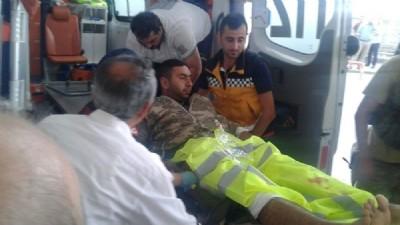 Maçka kırsalında patlama: 2 asker yaralı