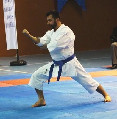 Milli karateciyi hırs bastı