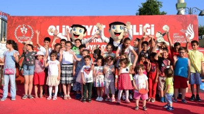 Samsun'da Deaflympics Şenliği