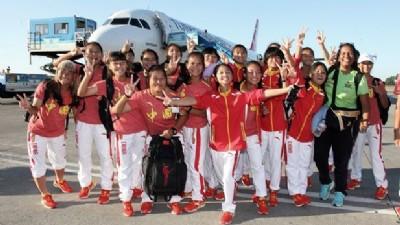 En fazla kadın sporcu Çin'de