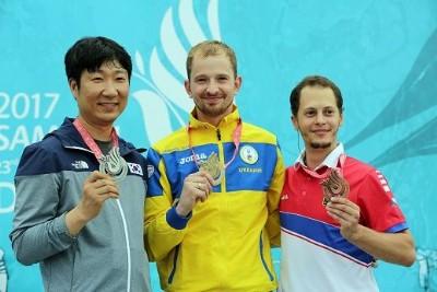 Atıcılıkta ilk altın Ukrayna'nın