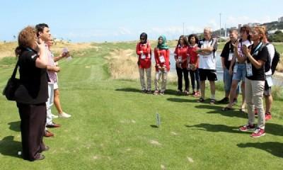 TGF'den muhabirlere golf kuralları eğitimi