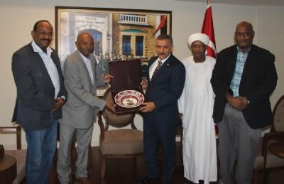Sudanlı öğrencilere Samsun'da ebelik eğitimi