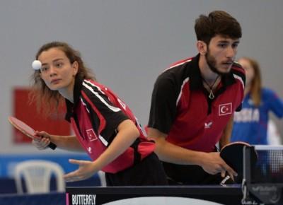 Masa tenisinde altın madalya Çin'e gitti
