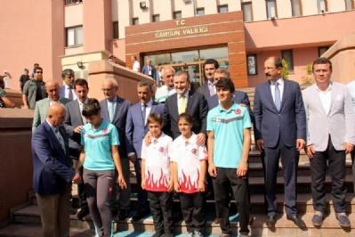 Yeni Gençlik ve Spor Bakanı Samsun'da