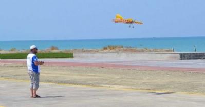 Model uçaklar yarıştı
