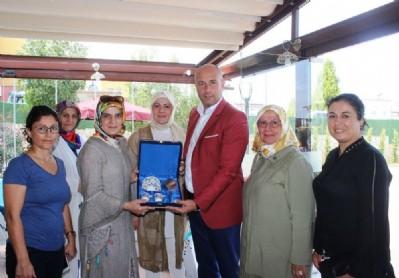 Togar, kadın meclis üyelerini ağırladı