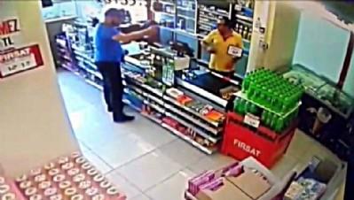 Karabük'te silahlı soygun girişimi