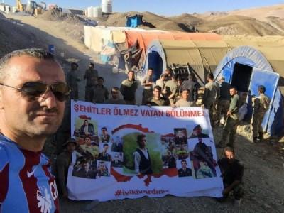Tır şoföründen Mehmetçiğe Kato'da köfte ziyafeti