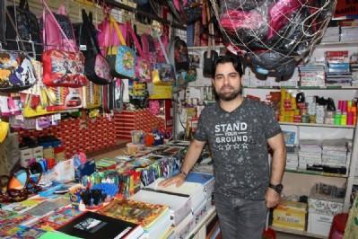Kırtasiye esnafı marketlerden şikayetçi