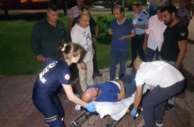 Parkta Suriyeliler saldırdı