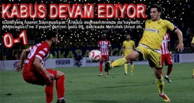 KABUS DEVAM EDİYOR 0-1