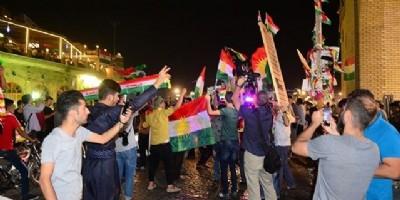 Kuzey Irak referandumunda sonuç; evet