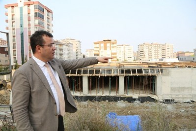 Atakum'da dev kompleks inşaatı